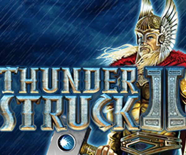 """""""Thunderstruck II"""" สล็อต 5 วงล้อในเกม หมุนวงล้อนำโชค พารวยไม่รู้ตัว"""